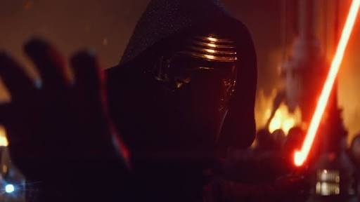 kylo hand out